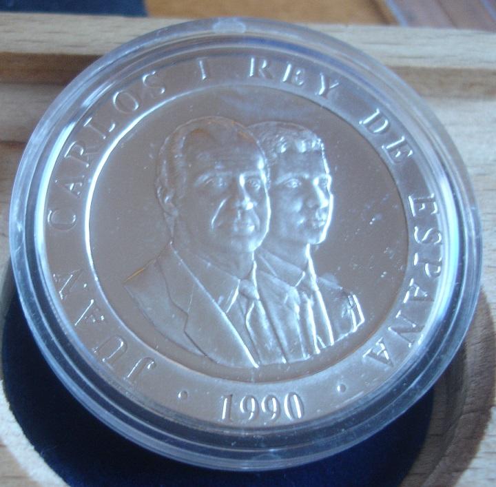 2000 Pesetas (Conmemorativa olimpiadas Barcelona¨92) Juan Carlos I. 1990 Dsc00410