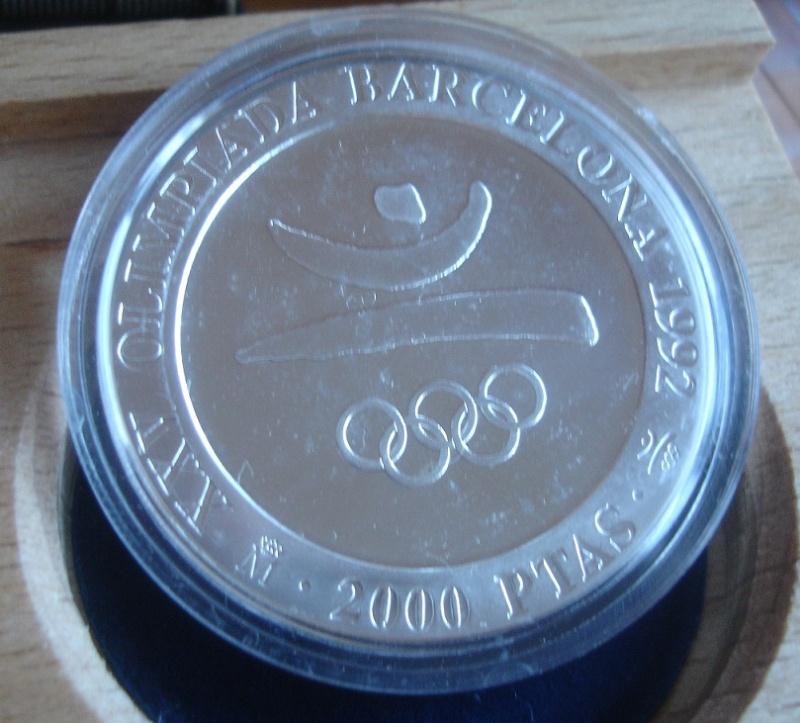 2000 Pesetas (Conmemorativa olimpiadas Barcelona¨92) Juan Carlos I. 1990 Dsc00411