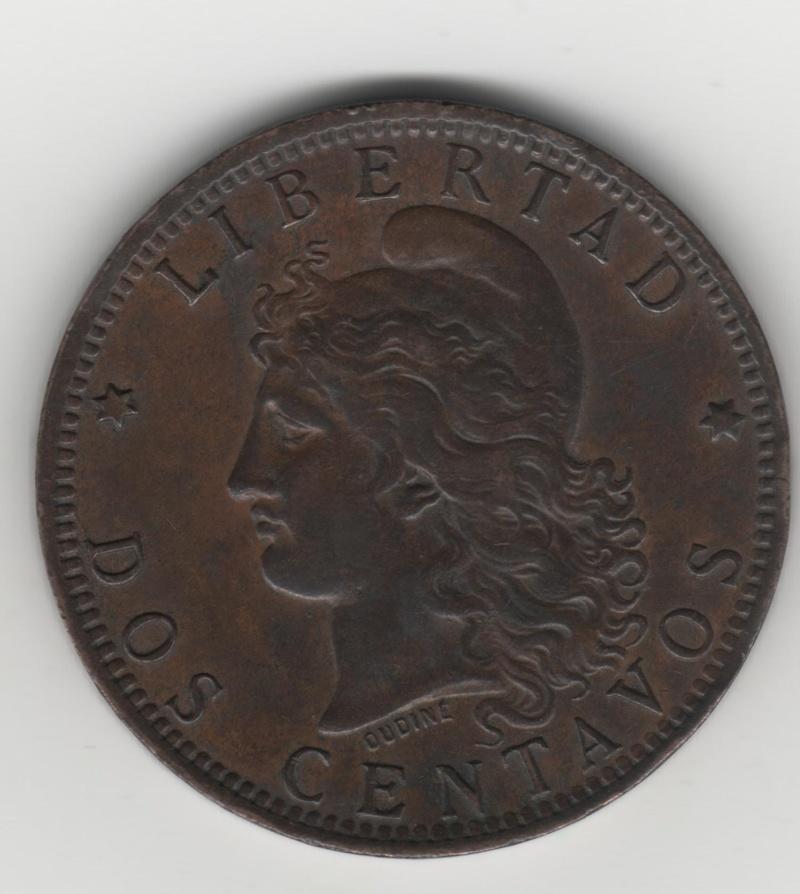 "2 Céntavos ""Patacón"". Argentina. 1891 Img51810"