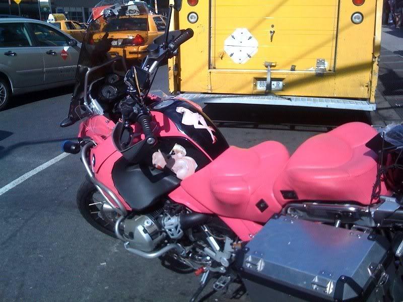 BMW r65ls Pink-g10