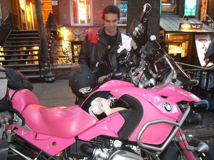 BMW r65ls Pink-g11