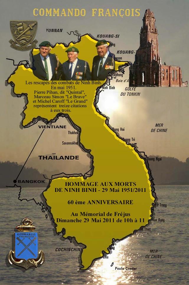 """60ème Anniversaire de la Bataille de NINH BINH """" Indochine , le 20.05.2011 . 1_60e_10"""