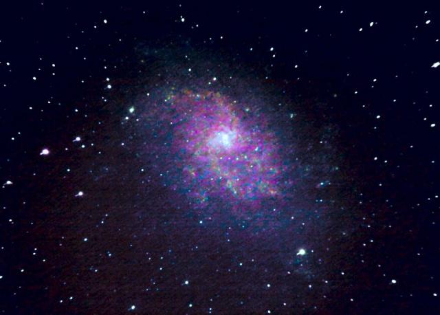 Observation du 7 Octobre 2007 (M13, M33) M33_7o10