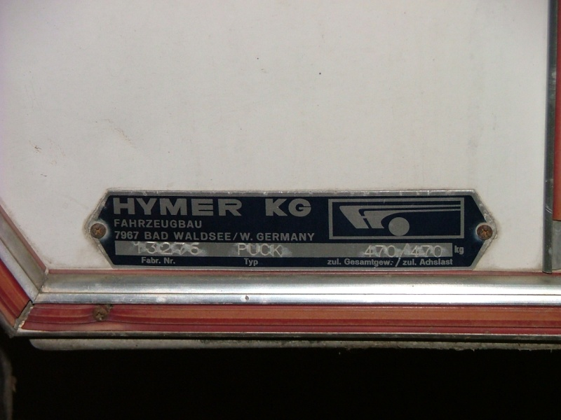 Plaque constructeur Eriba / Hymer [Post Photos] 2003_011