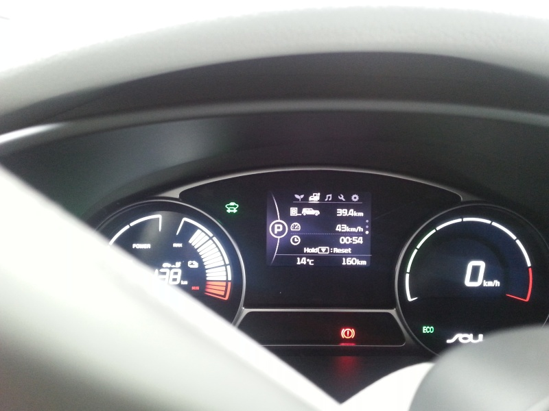 Mon premier trajet électrique, en Kia Soul EV 20150912