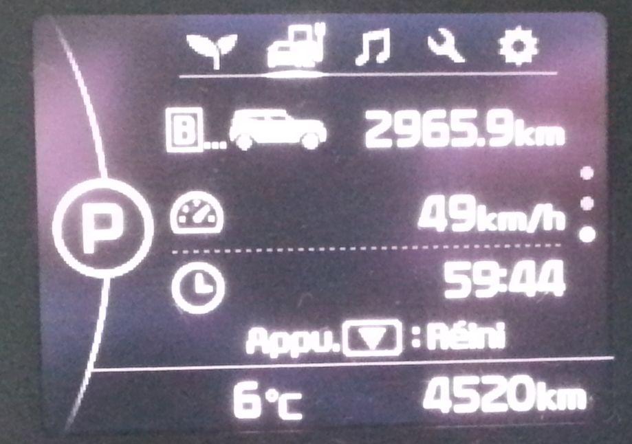 3 000 km en SoulEV en une semaine  Compte10