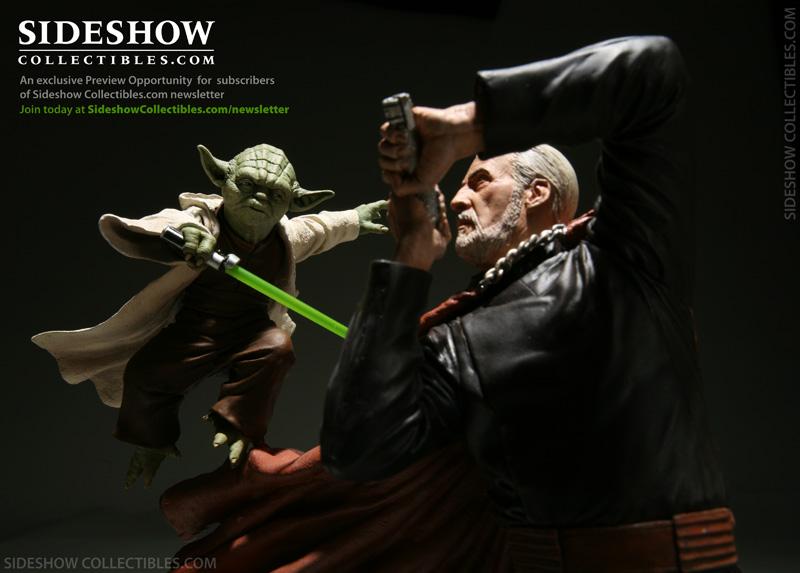 Diorama Yoda vs Count Dooku ! Dookud10