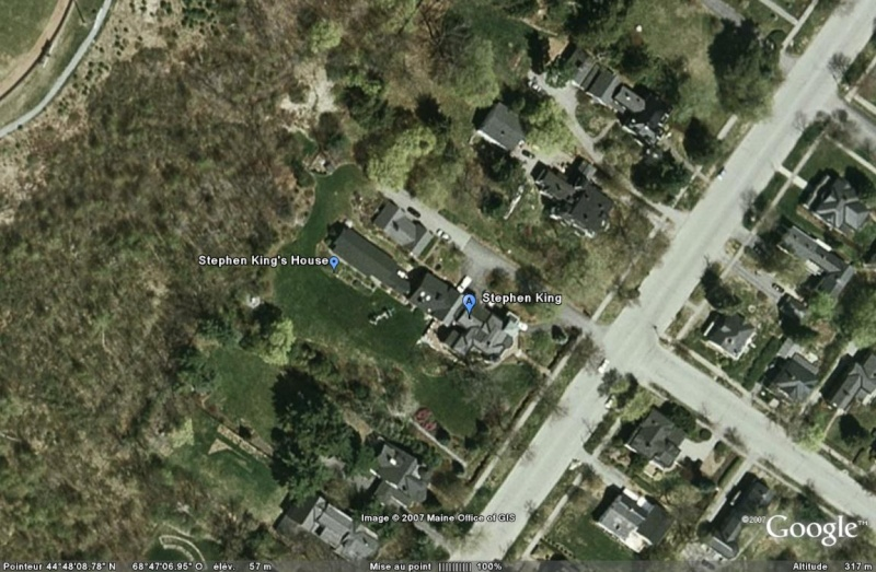 Maison de Stephen King, Bangor, Maine - USA Stephe10