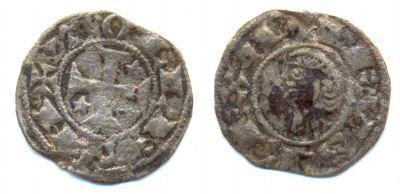 Dineros Pepiones de Alfonso VIII (1157-1256) Alfons17