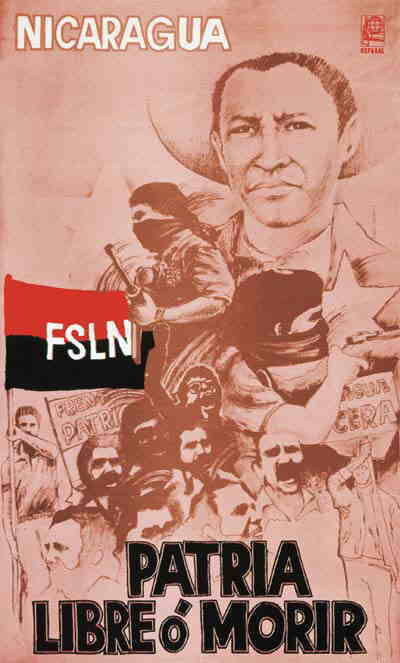 AFICHES HISTORICOS FSLN Fsln10