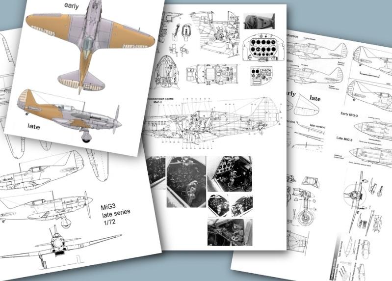 Montage: MiG3 fin de série, Hobby Boss 1/72 _doc10
