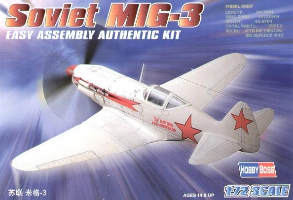 Montage: MiG3 fin de série, Hobby Boss 1/72 _doc_k10