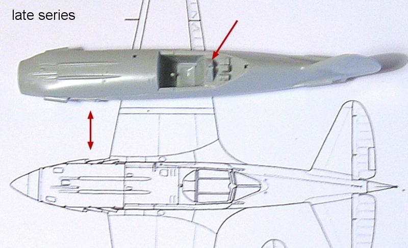 Montage: MiG3 fin de série, Hobby Boss 1/72 Montag13