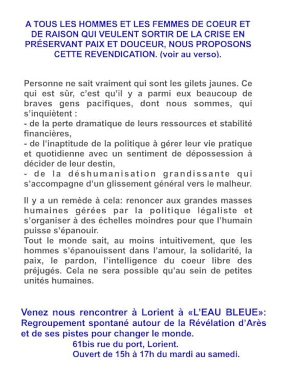 La nouvelle folie des Pèlerins d'Arès de Bretagne Frzore13