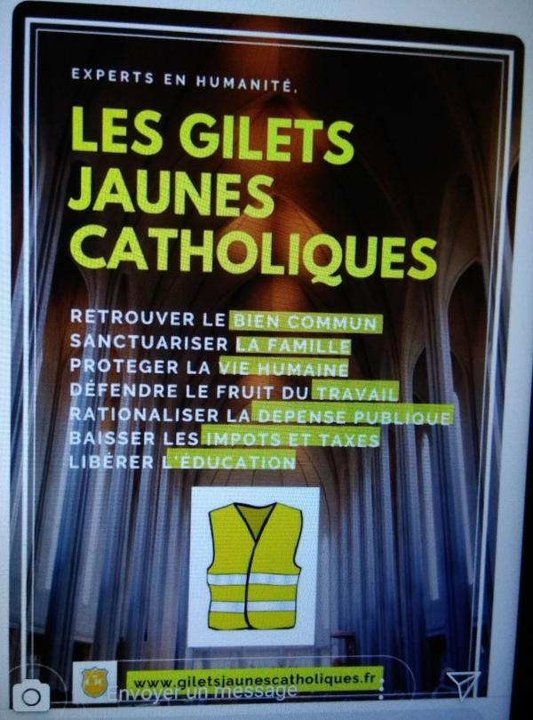 Les gilets jaunes et les Pèlerins d'Arès Gilets10
