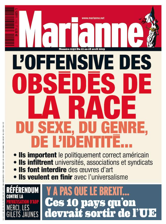 Un nouveau militantisme antiraciste confinant au racisme... Marian10