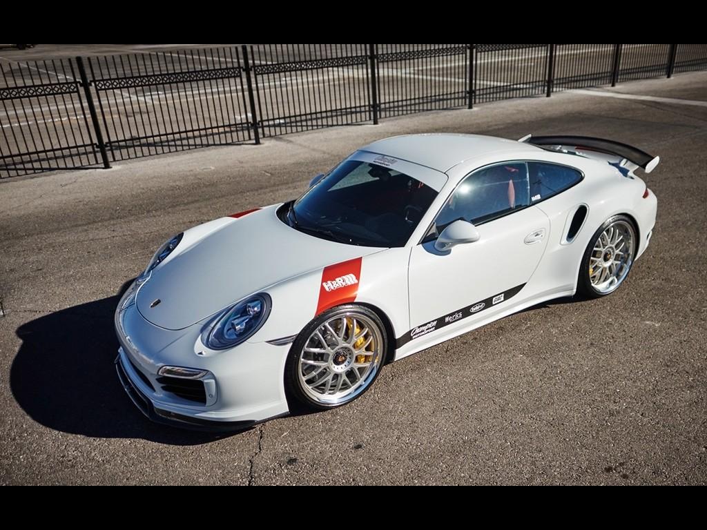 H&R Springs Porsche 911 Turbo S 2015-h11