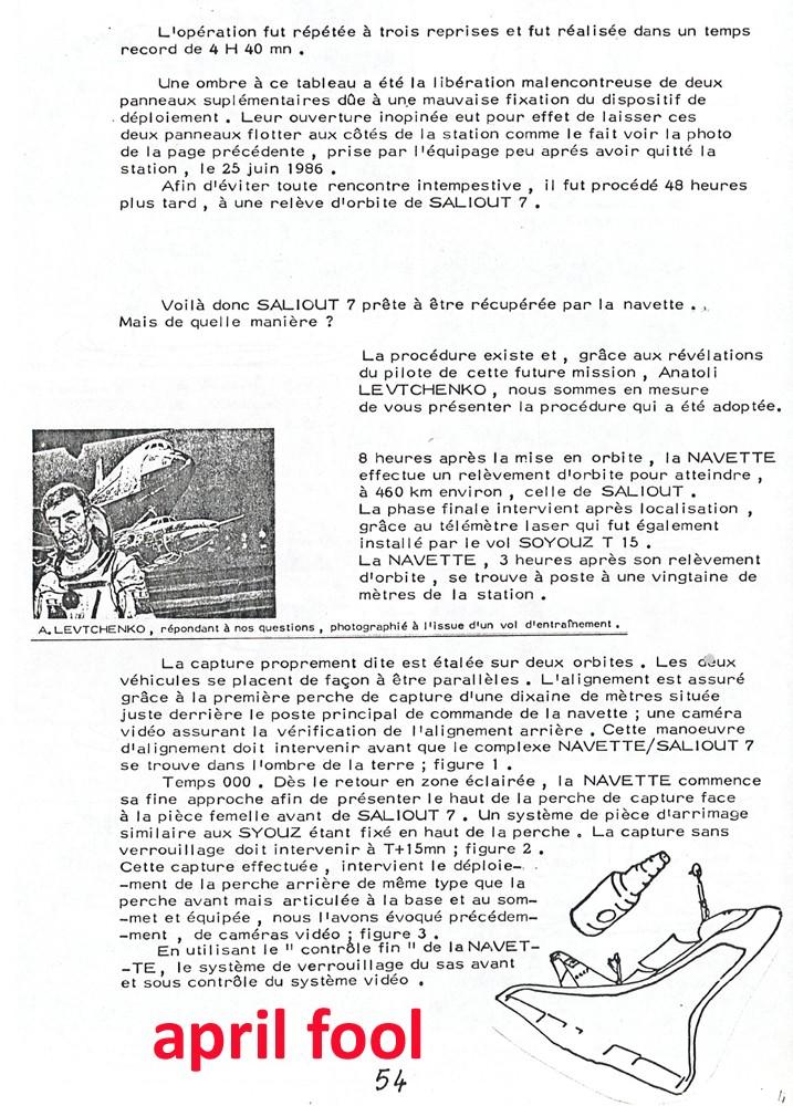 Mockumentaire sur la capture de Saliout-7 par les USA en 1985 110211