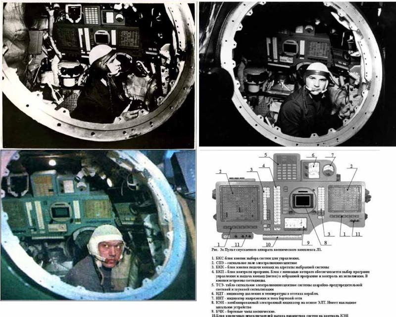 Koubassov dans un cockpit de Zond habitable ? Zond10