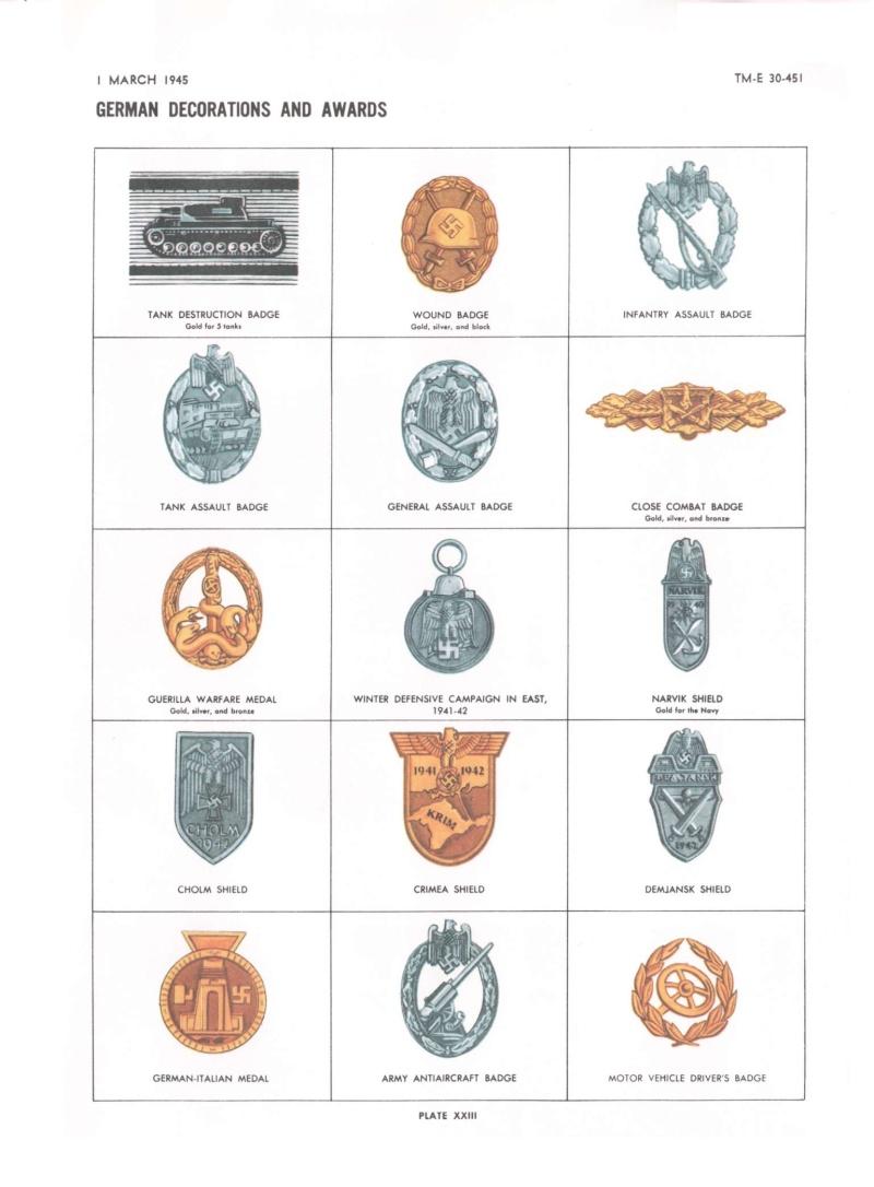Ordres et décorations 30-45110