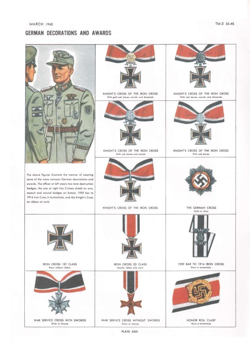 Ordres et décorations 30-45112
