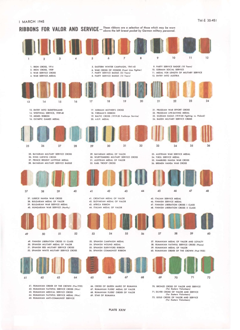 Ordres et décorations 30-45113
