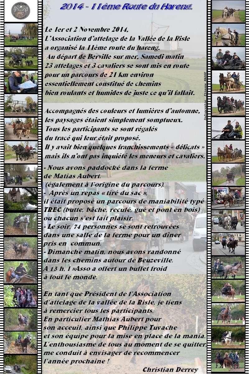 """7 et 8 Novembre 2015 - Restitution de 12ème édition de """"La route du Hareng"""" avec la vidéo et des photos ! 2014_r10"""