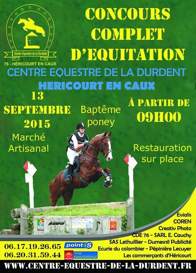 13 eptembre 2015 - CCE Héricourt en Caux (76) Affich10