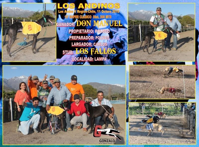 DOMINGO 11 DE OCTUBRE, DAMOS PUNTA A LOS QUE NO SON DE PUNTA EN CANODROMO LOS ANDINOS. 10-cla11