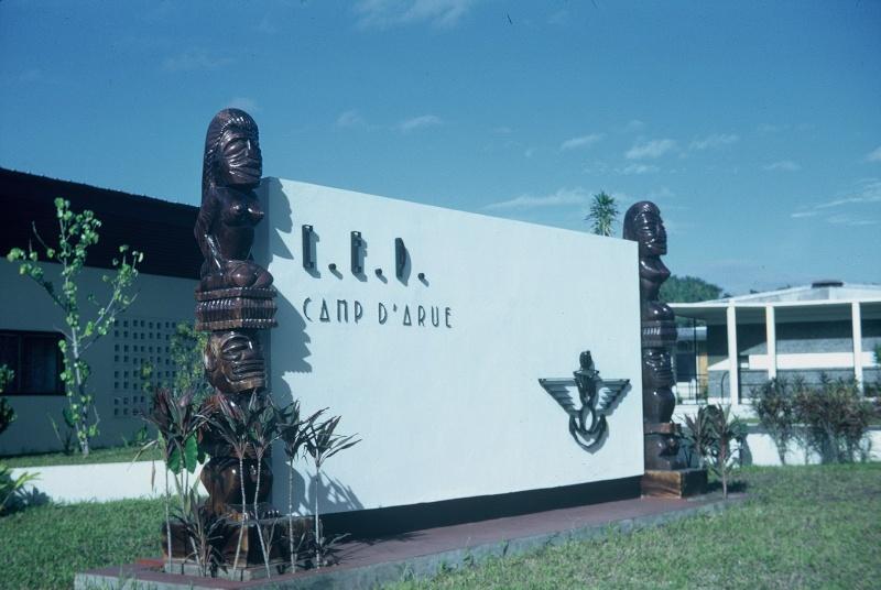 [Campagnes] Souvenirs de mon arrivée au camp d'Arué à Tahiti F1000013