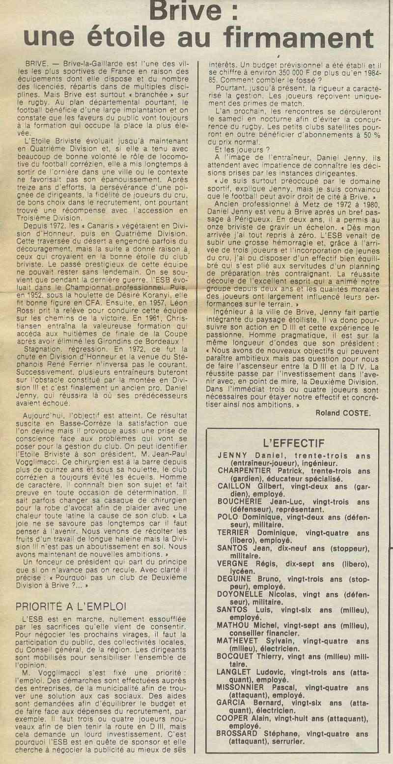 Histoire du club - Page 2 France10