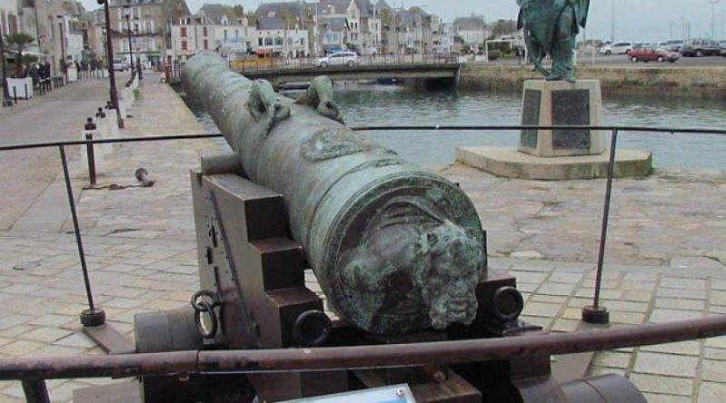 Canon de 24 au 1/16 ème de la 2ème batterie du Soleil Royal - par michaud Le-can10