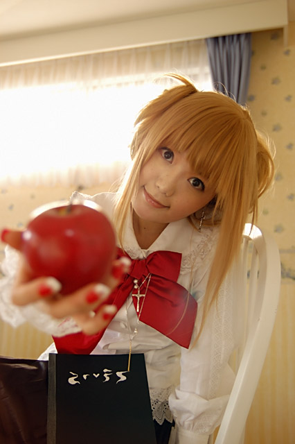 Cosplay Death Note Death_13