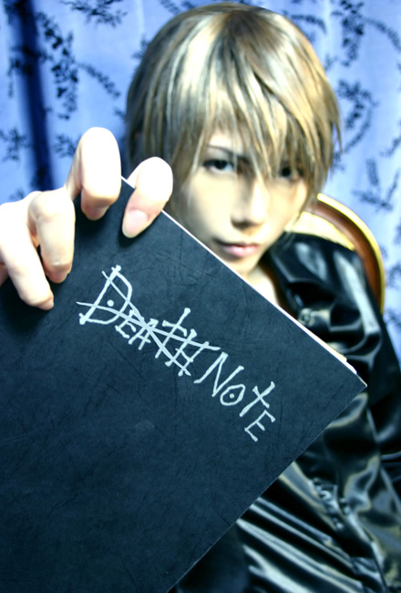 Cosplay Death Note Death_15