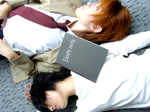 Cosplay Death Note Death_17