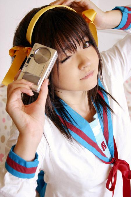 Cosplay de suzumiya haruhi Hawtha10