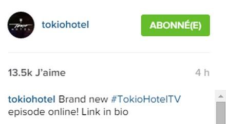 [Instagram Officiel] Instagram  Bill,Tom,Gus,Georg et TH - Page 39 Sans_277