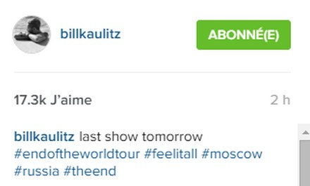 [Instagram Officiel] Instagram  Bill,Tom,Gus,Georg et TH - Page 40 Sans_288
