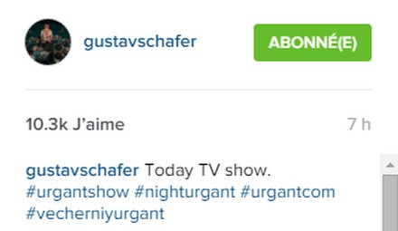 [Instagram Officiel] Instagram  Bill,Tom,Gus,Georg et TH - Page 39 Sans_291