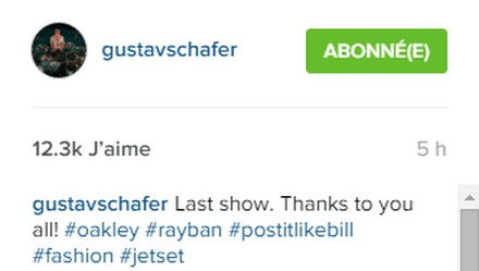 [Instagram Officiel] Instagram  Bill,Tom,Gus,Georg et TH - Page 40 Sans_295