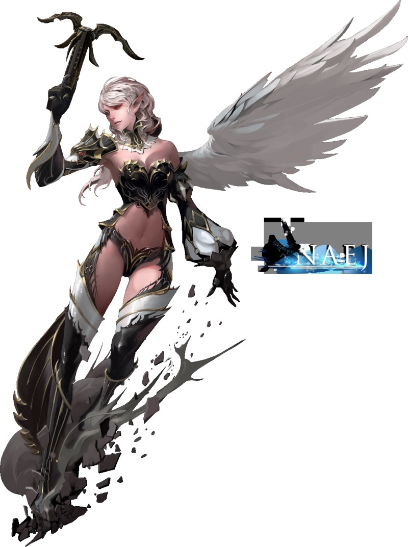 Lineage 2 Kamael The First Throne Angelg10