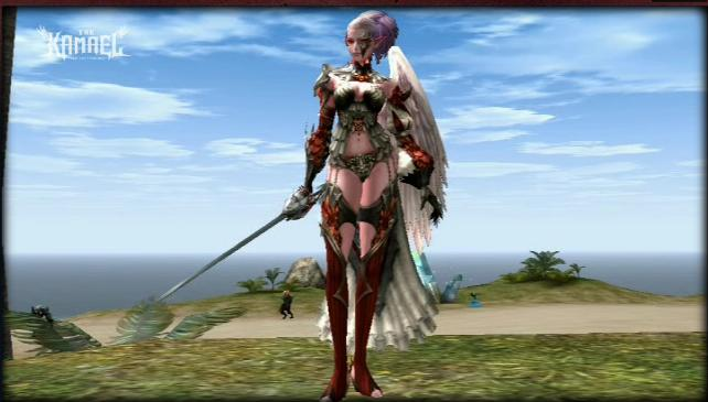 Lineage 2 Kamael The First Throne Face2010