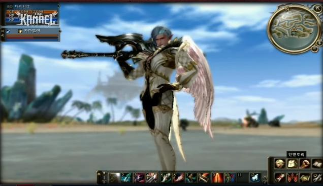 Lineage 2 Kamael The First Throne Hud20q10