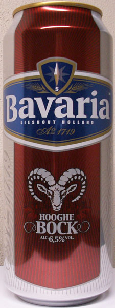 New Bavaria Hooghe Bock can from the Netherlands 2010-n10