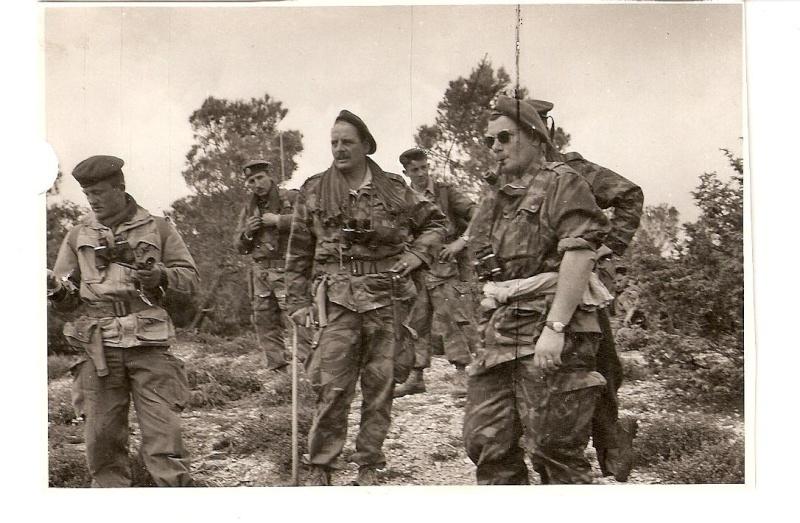 ONIMUS Joseph - colonel, grand capitaine du  14 R C P   en Algérie vient de décéder Capita11