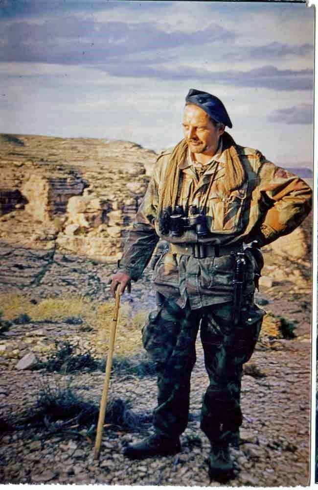 ONIMUS Joseph - colonel, grand capitaine du  14 R C P   en Algérie vient de décéder Cne_on10