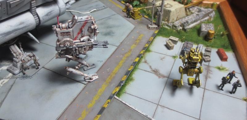 Plateforme d'atterrissage pour Navette Lambda - Page 4 Robot215