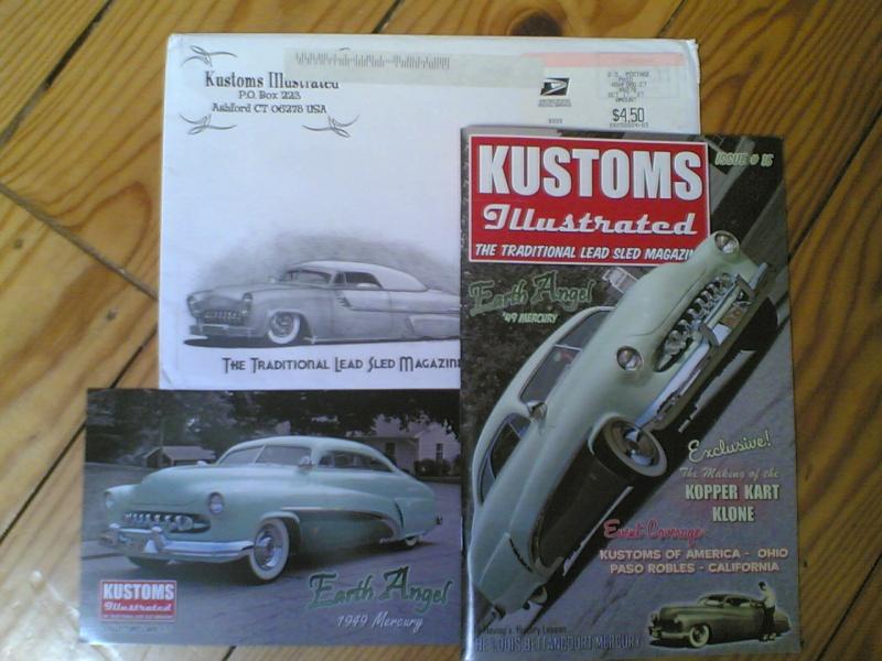 kustom Illustrated   The Traditional Lead Sled Magazine Kustom12