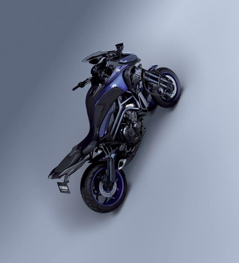 Yamaha lance la MTW-9 ! Une MT-09 à trois roues !!! 12119910