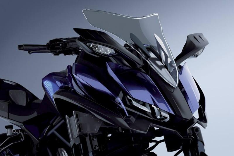 Yamaha lance la MTW-9 ! Une MT-09 à trois roues !!! 12191810